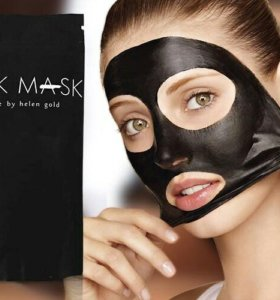 Чёрная маска-плёнка для лица Black Mask