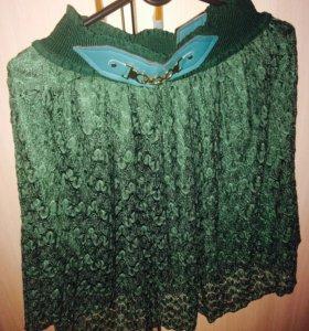 Новая гипюровая юбка