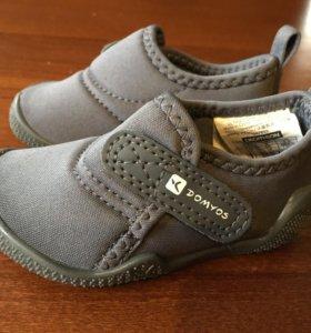 Новые лёгкие кроссовки 19 р. Domyos