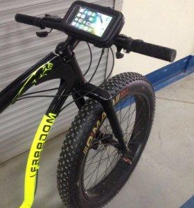 Чехол с креплением телефона для велосипеда велопро