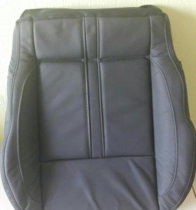 Обшивка сиденья водителя. Рено Калеос