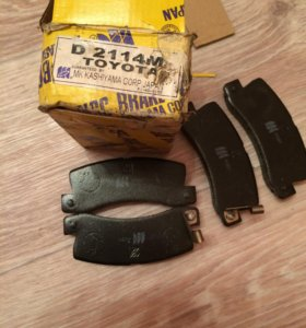 Тормозные колодки на Toyota