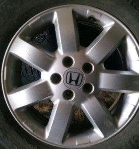 Диски на Honda CR-V