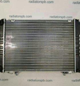 Радиатор на газель бизнес аллюминиевый