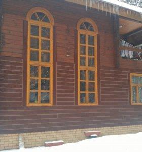 Окна б/у деревянные