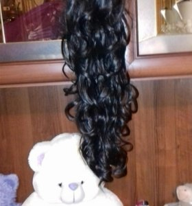 Волосы на крабике
