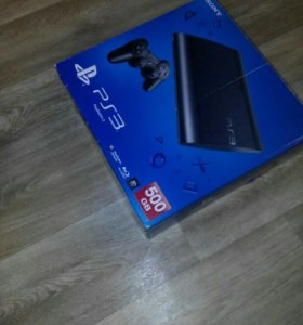 Sony PlayStation 3 Super Slim 500GB с допами