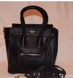 Новая кожаная сумка Celine