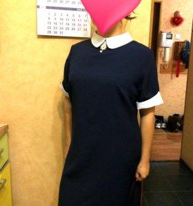 Школьное стрейчевое платье