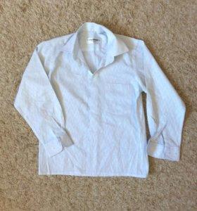 Рубашка на мальчика р.140