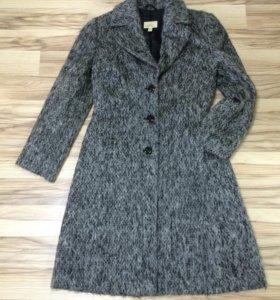 Пальто демисезонное, теплое