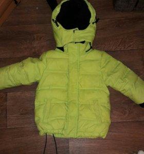 Деми куртка на мальчика 1-2.5 года