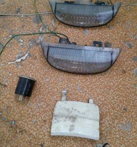 Светодиоды на спойлер от дио 34-35