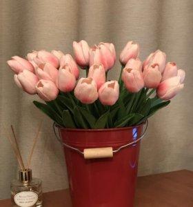 Искусственные тюльпаны /31 шт