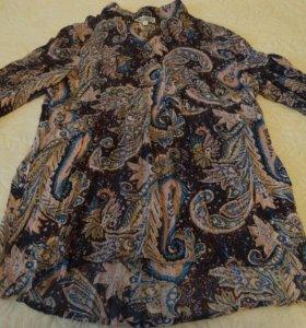Летняя блуза-туника, 48-50 размер