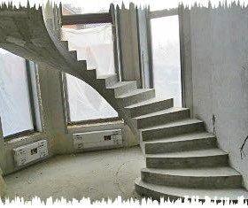 Винтовые монолитные лестницы