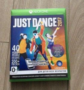 Игра на Xbox one just dance 2017