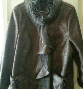 Куртка-дублёнка демисезонная