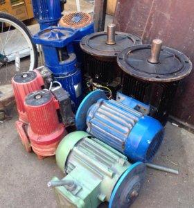 продам электродвигатели разные 7 штук