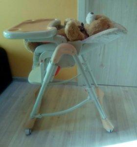 Стульчик для кормления Baby Care Love Bear