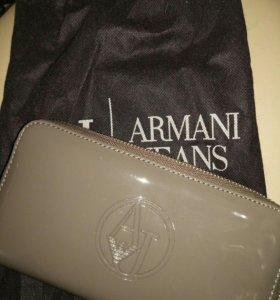 Кошелек Armani Jeans (новый, оригинал)