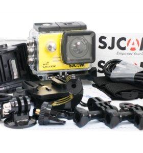 ๏●Экшн-камера SJCam SJ5000X Elite Yellow 4К●๏