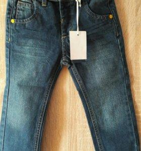 Новые джинсы р-р 92/98