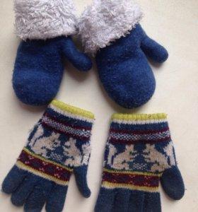 Варежки и перчатки 1-3 года