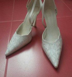 туфли белые бу