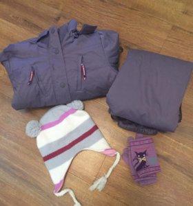 Зимний костюм для активных прогулок