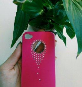 Чехол-бампер на iphone 4s!!!!