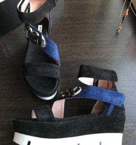 Летняя обувь сандалии платформа