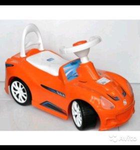 Машина-каталка Спорт-кар. Новая