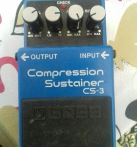 Boss compression sustainer cd3