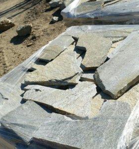 Плитнияк кварцит камень