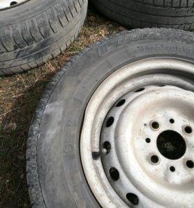 Резина(шины) с дисками R13