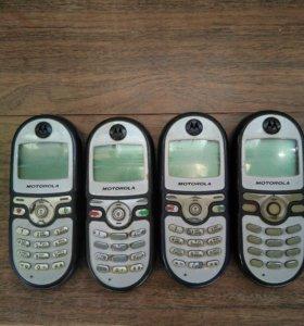 Motorola C200 4шт