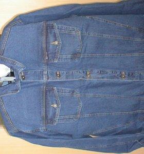 Джинсовый костюм с брюками 56-58 рост182-188