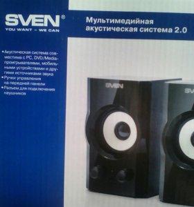 Новая Мультимедийная акустическая система 2.0