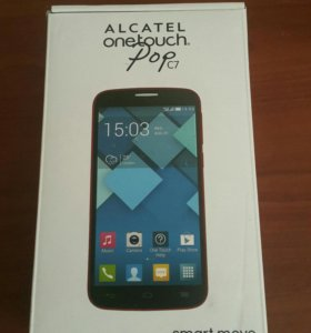 Коробка от Alcatel one touch pop c7