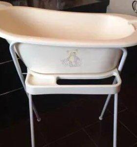 Детская ванночка с подставкой mothercare