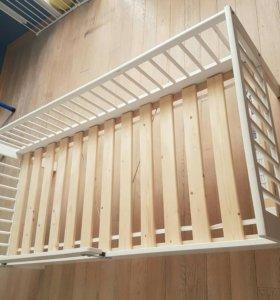 Кроватка детская подростковая Гулливер икеа 160х70