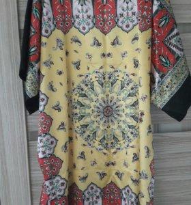 Платье туника 100% шелк Тайланд