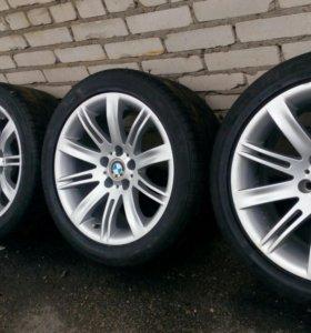 Колеса BMW 6 R18 разноширокие