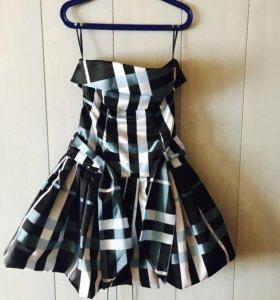 Платье с корсетом 42-46р.