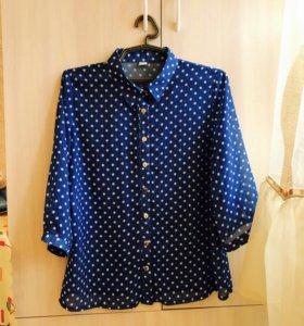 Шифоновая блуза 42-46