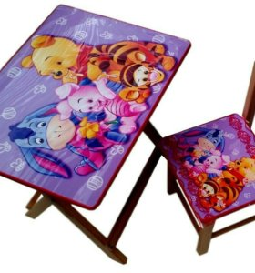 Раскладной детский столик