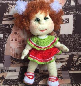 Вязанная Кукла ручной работы