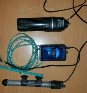 Фильтр, терморегулятор,аэратор