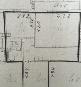 Квартира 52,2 кв.м.